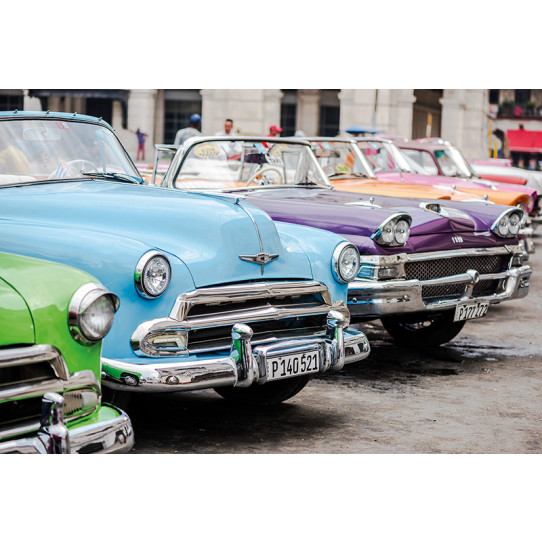 Poster - Affiche voitures américaines