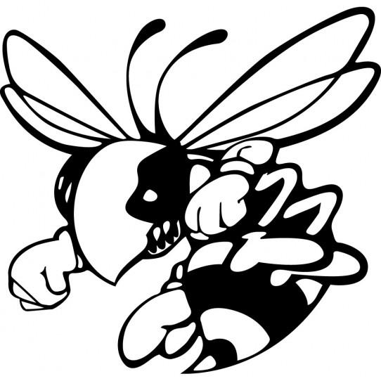 Stickers frelon hornet