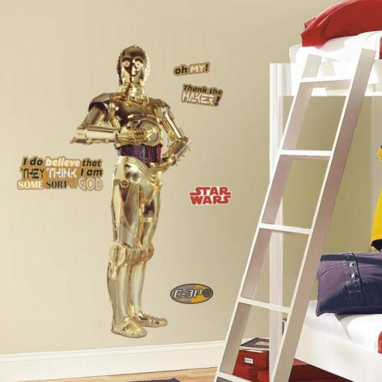 Stickers Géant C3PO Star Wars