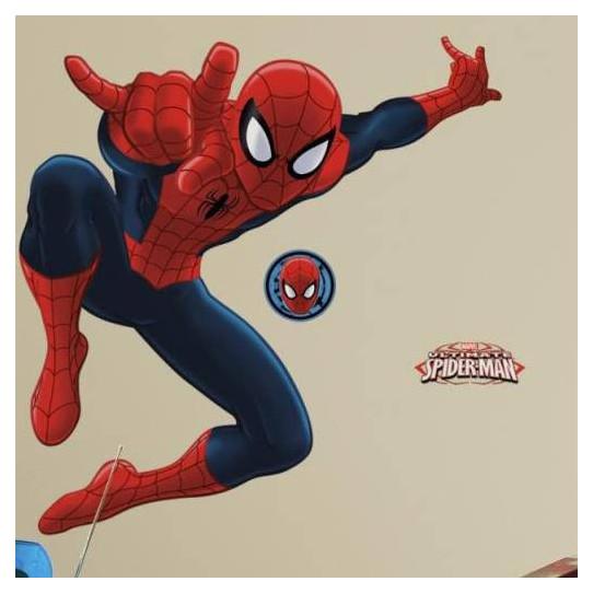 Stickers Géant Spiderman Marvel