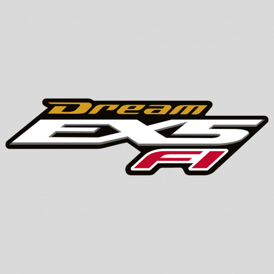 Stickers honda dream EX5 fi