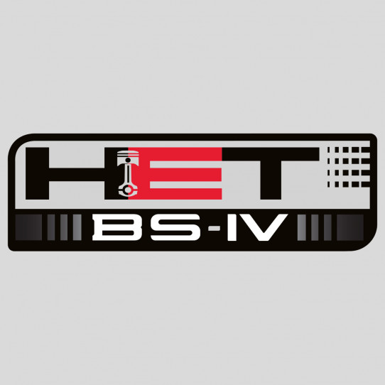 Stickers honda HET BS-IV