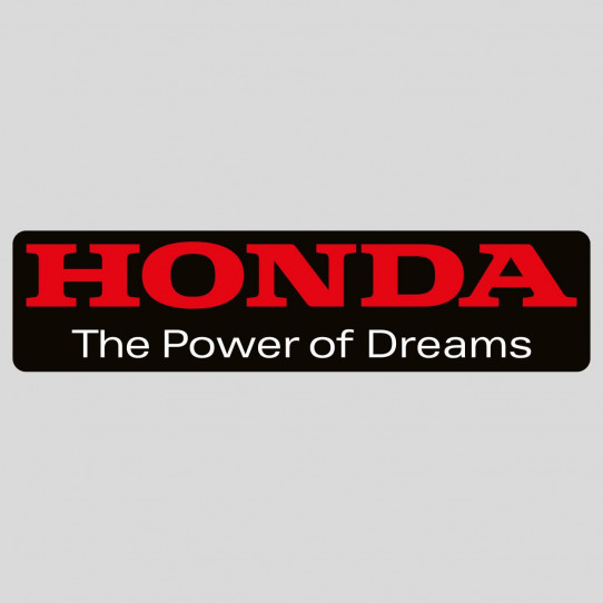Stickers honda the power of dreams