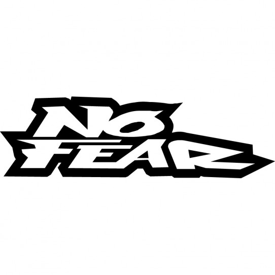 Stickers no fear
