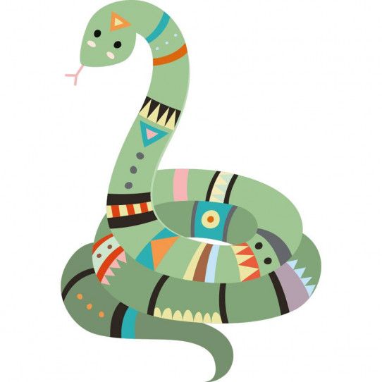 Stickers serpent indien