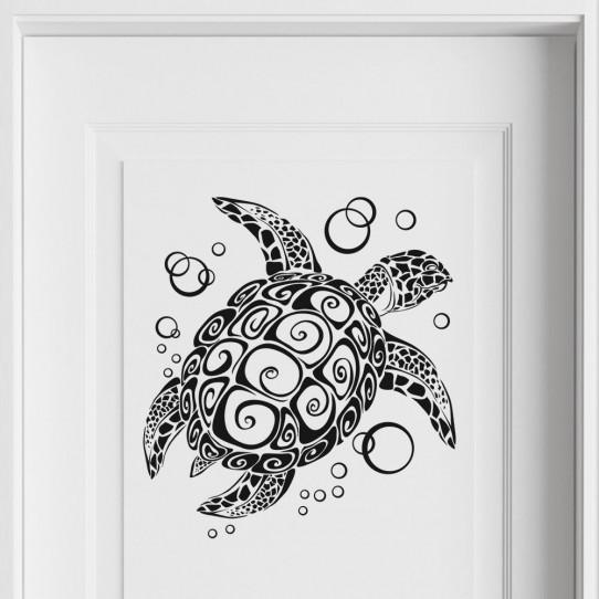 Stickers tortue marine