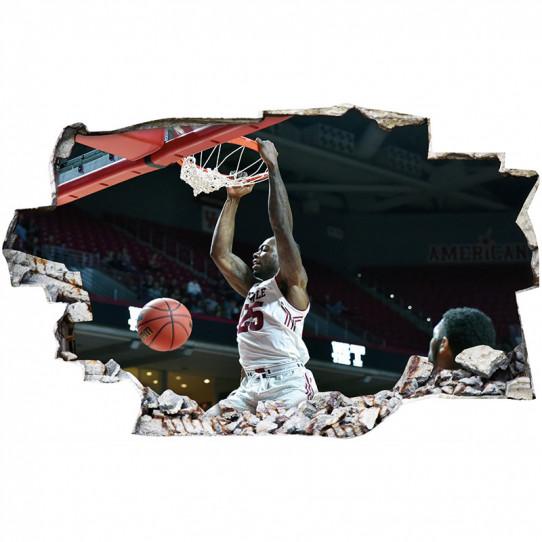 Stickers Trompe l'oeil 3D - Basket 5