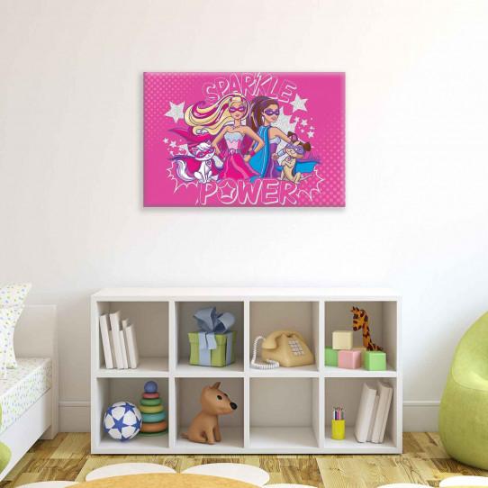 Tableau Barbie 40x60 cm