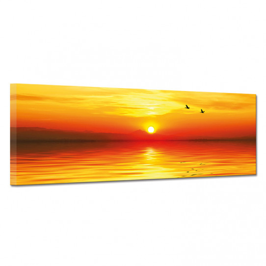Tableau toile - Couché de soleil 6