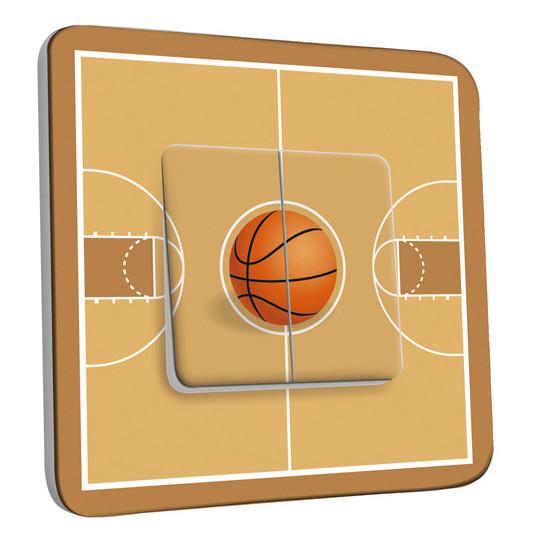 Interrupteur Décoré Double Va et Vient - Basket-Ball