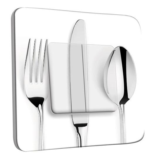Interrupteur Décoré Double Va et Vient - Cuisine Couverts design