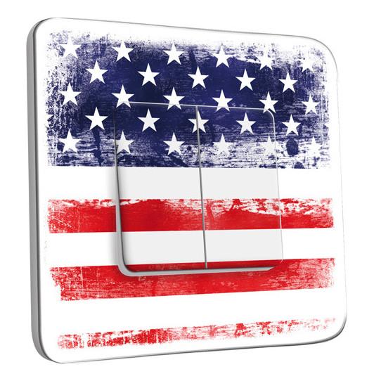 Interrupteur Décoré Double Va et Vient - Etats Unis