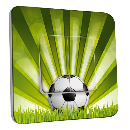 Interrupteur Décoré Double Va et Vient - Football 2