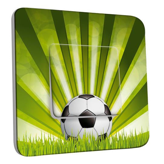 Interrupteur Décoré Simple Va et Vient - Football 2