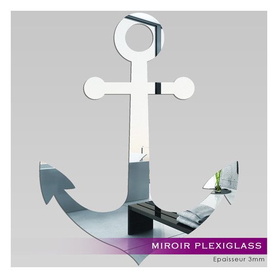 Miroir Plexiglass Acrylique - Ancre