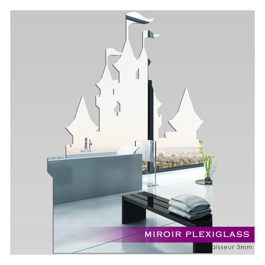 Miroir Plexiglass Acrylique - Château Princesse