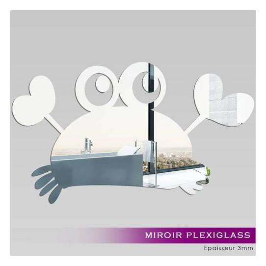 Miroir Plexiglass Acrylique Crabe