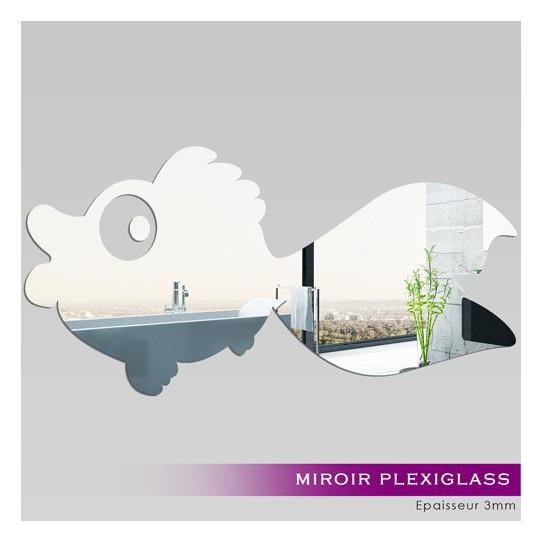 Miroir Plexiglass Acrylique Poisson