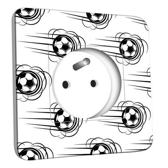 Prise décorée - Ballon de foot Black&White 1