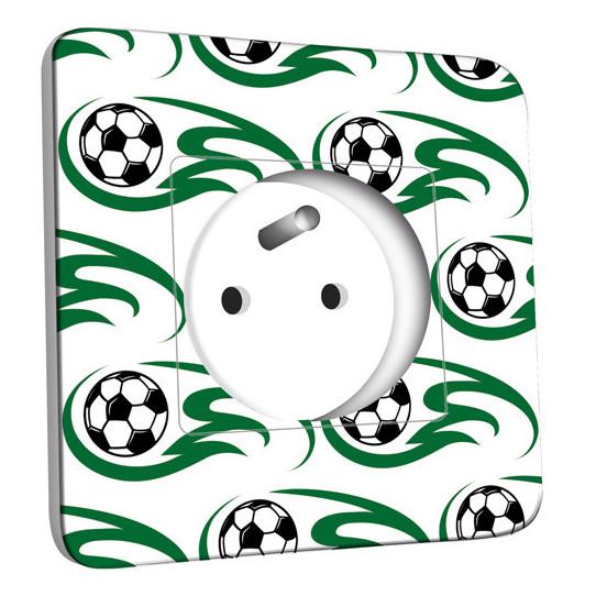 Prise décorée -  Ballons de foot