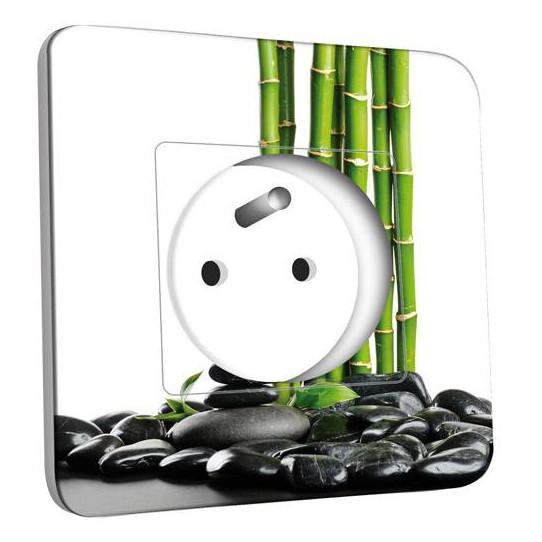 Prise décorée - Bambou 1