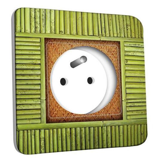 Prise décorée - Bambou 3