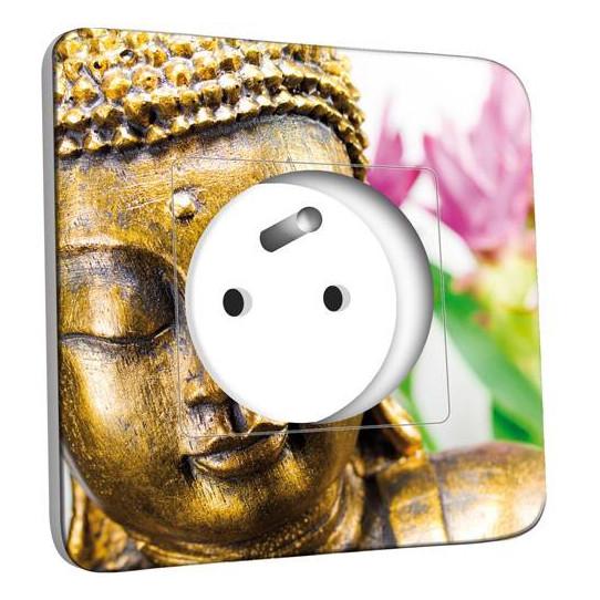 Prise décorée - Bouddha