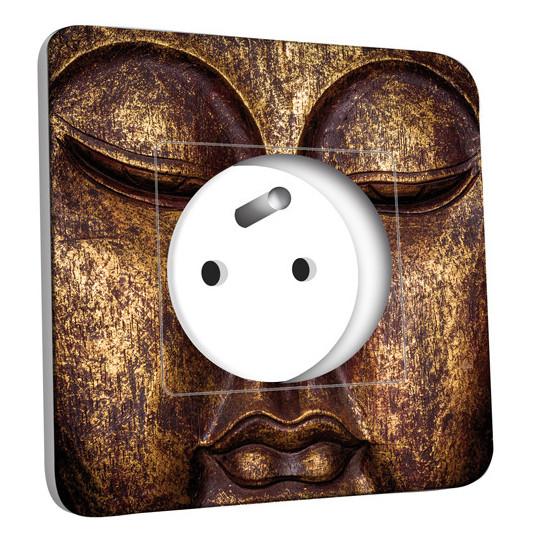 Prise décorée - Bouddha Or