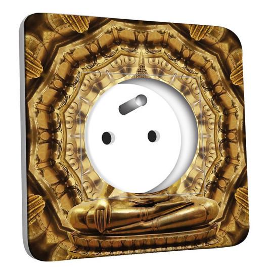 Prise décorée - Bouddha Or 2