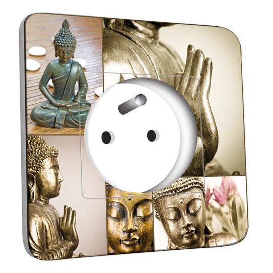 Prise décorée -  Bouddha Zen