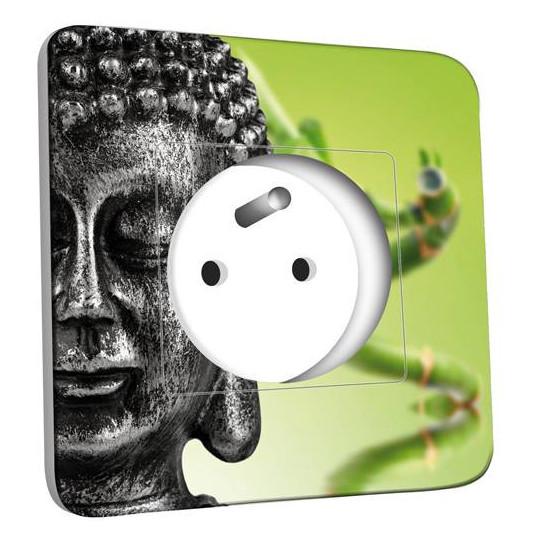 Prise décorée - Bouddha Zen 2