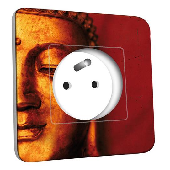 Prise décorée -  Bouddha Zoom Or 5