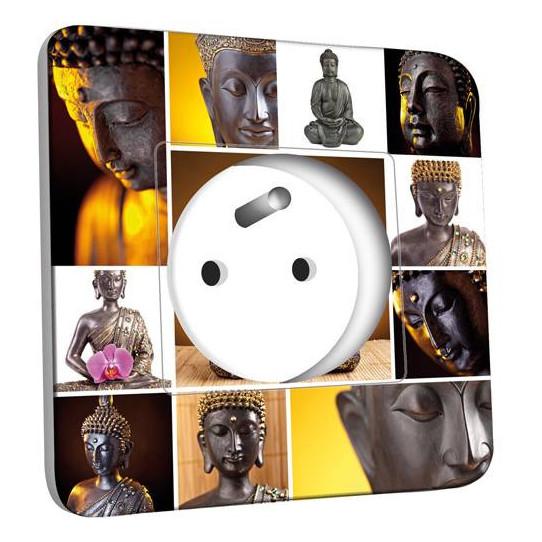 Prise décorée - Bouddhas