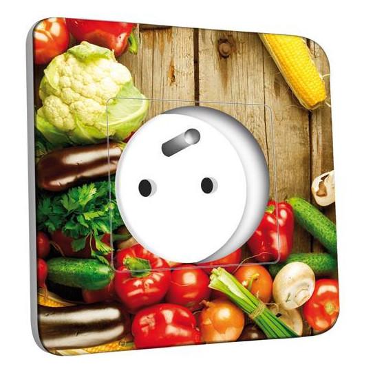 Prise décorée - Cuisine Life style Fruits&Lègumes 3