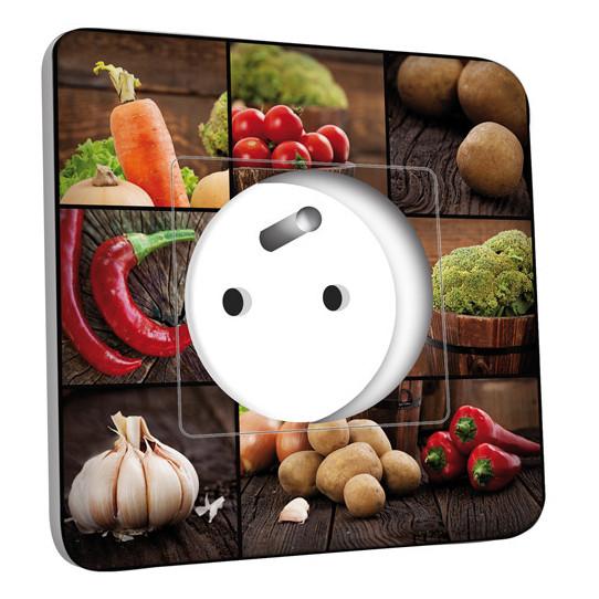 Prise décorée - Cuisine Life style Lègumes 10