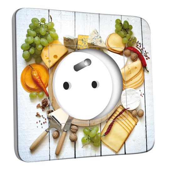 Prise décorée - Cuisine Life Style Plateau des Fromages