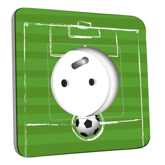 Prise décorée - Football