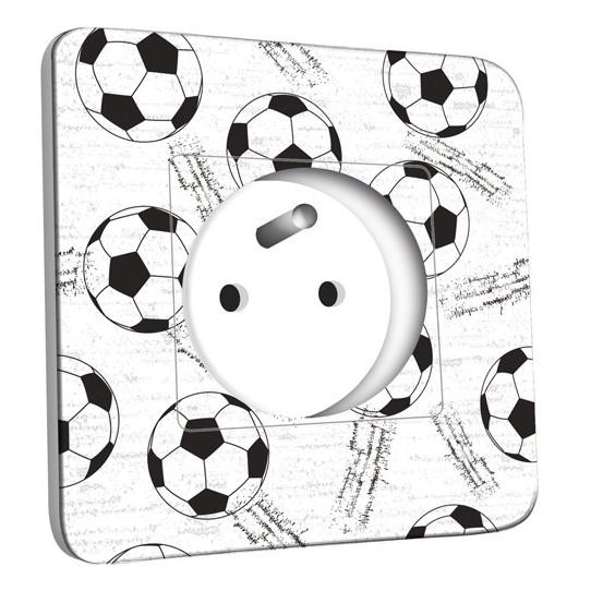 Prise décorée - Football Black&White 1