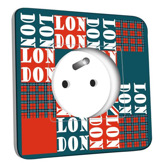 Prise décorée - London Abstrait 1