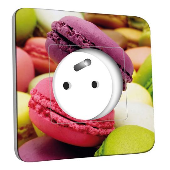Prise décorée - Macarons 3