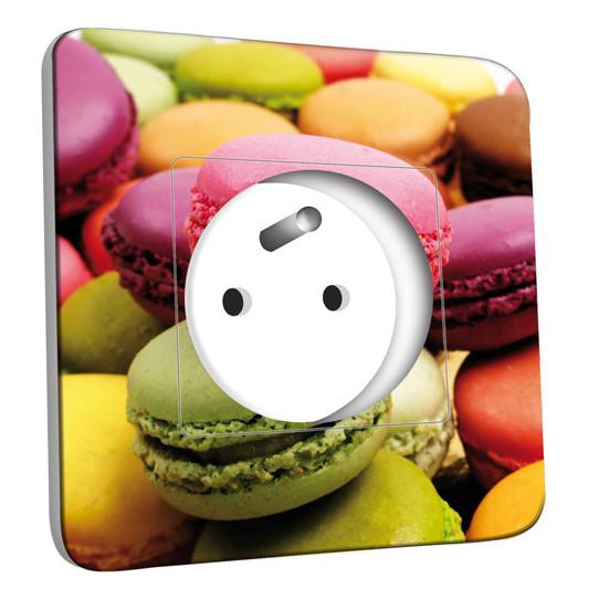 Prise décorée - Macarons 4