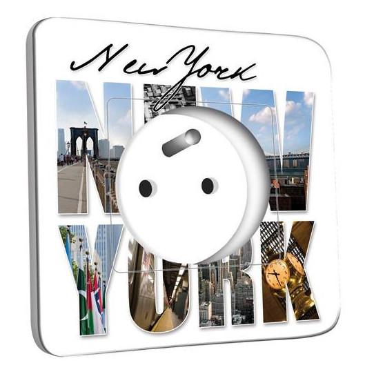 Prise décorée - New York Lettres 1
