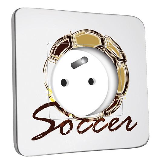 Prise décorée - Soccer