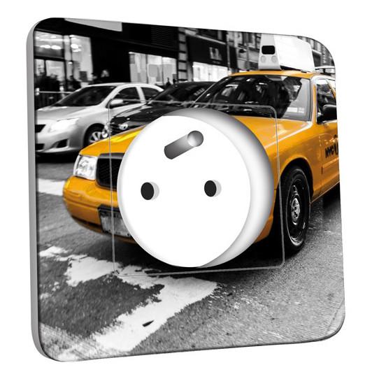 Prise décorée - Taxi