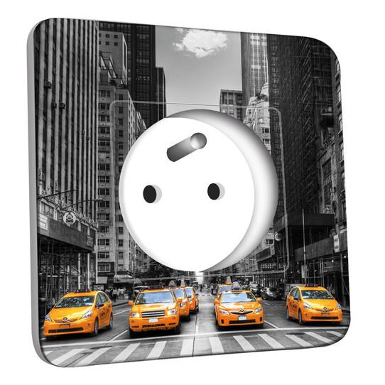 Prise décorée - Taxi New York