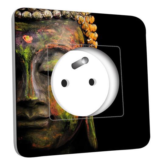 Prise décorée - Tête de Bouddha Peinture