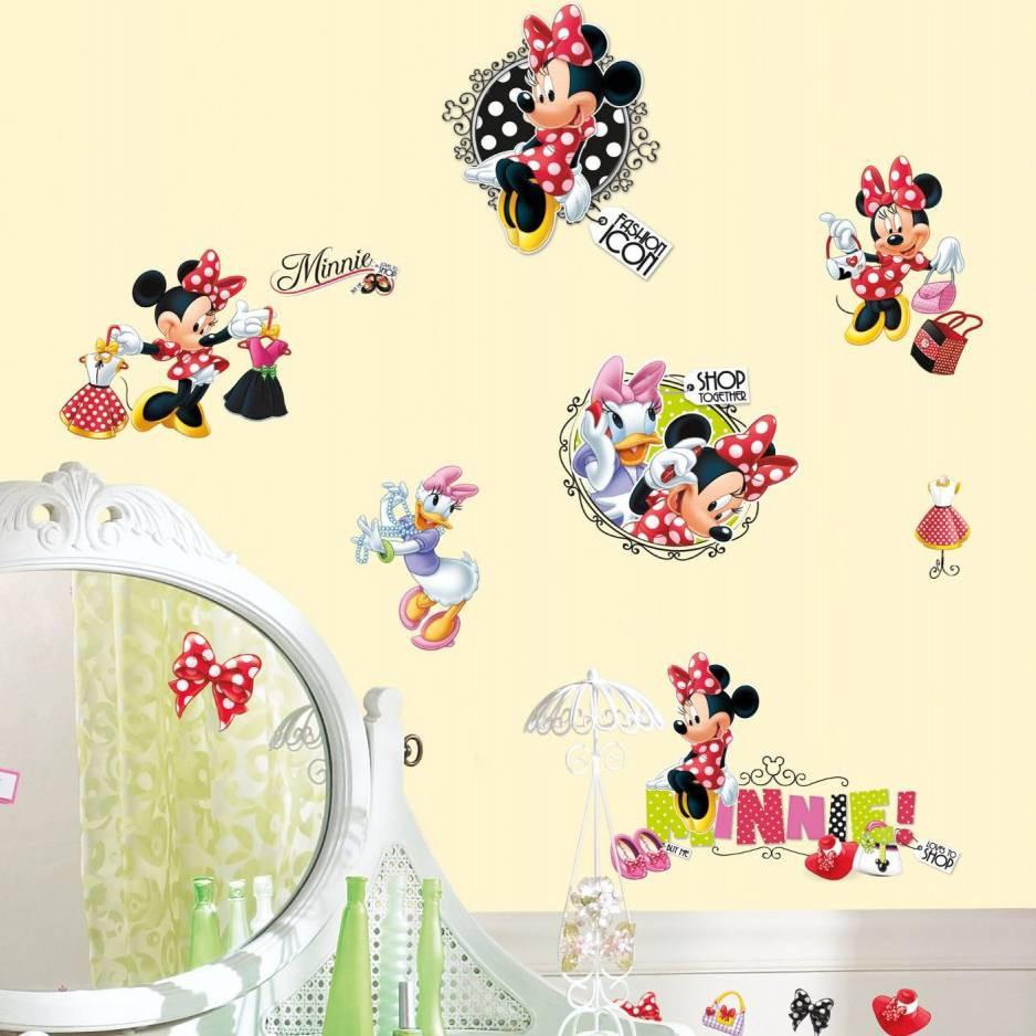 21 stickers fashion addict minnie mouse disney des prix. Black Bedroom Furniture Sets. Home Design Ideas