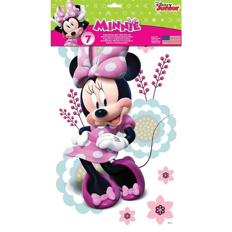 7 stickers minnie mouse disney des prix 50 moins cher. Black Bedroom Furniture Sets. Home Design Ideas