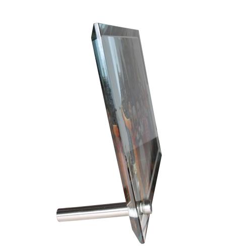cadre photo en verre contour biseaut moyen format des. Black Bedroom Furniture Sets. Home Design Ideas