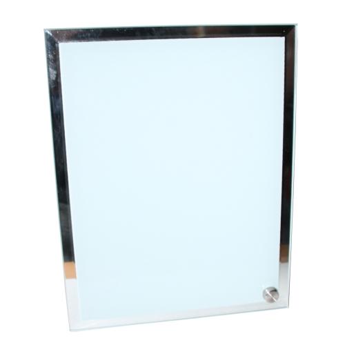 cadre photo en verre contour miroir des prix 50 moins. Black Bedroom Furniture Sets. Home Design Ideas